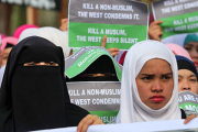 На Филиппинах прошел митинг против Charlie Hebdo