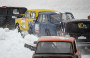 В Боровой прошли снежные «контактные» гонки