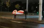 Жители Михалово вышли на вечерний протест