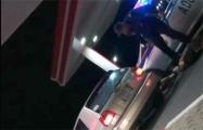 В МВД объяснили задержание водителя через боковое стекло под Дрогичином