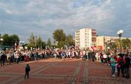 В Заславле сотни человек собрались на встречу с руководством города
