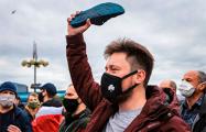 «Таракана мы сметем!»: появилось ускоренное видео живой цепи в Минске