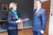 Новый посол Беларуси в Литве вручил верительные грамоты