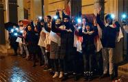 Белорусы Санкт-Петербурга вышли на акцию в память о Романе Бондаренко