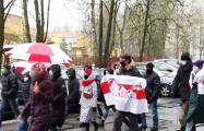 Зеленый Луг на марше скандирует: «Трибунал!»