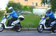 Минских патрульных пересадили на скутеры