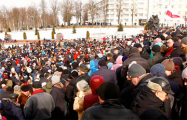 Жители Витебска хотят провести 25 марта митинг-концерт