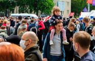 Минский пикет 31 мая в фото из Instagram
