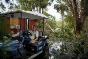 Разрушительные ураганы защитили американцев от компьютерных вирусов