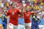 Сборная Швейцарии обыграла команду Эквадора в ЧМ по футболу