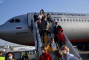 Первый самолет из Москвы после пандемии приземлился в Минске