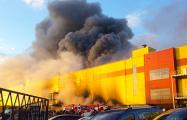 В России снова горели торговые центры