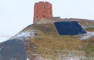 Фотофакт: Завершены работы на горе Гедимина в Вильнюсе