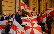 Белорусы Санкт-Петербурга поддержали бастующих рабочих «Гродно Азот»
