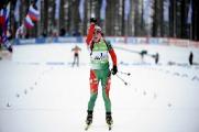 Дарья Домрачева выиграла спринт в Хохфильцене