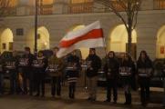 Мигальский провел акцию солидарности с Дашкевичем и Статкевичем