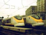 Три поезда застряли в тоннеле под Ла-Маншем