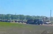 Колонна военной техники ВС РФ зафиксирована в Ростовской области