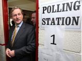 Оппозиция лидирует на выборах в Ирландии