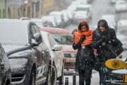 Циклон «Филиз» принес в Минск метель и снегопад