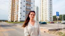 Белоруска в Швеции защитила диплом о реконструкции спального района Минска