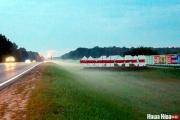 За «красную полосу» на знаке у въезда в Солигорск грозят уголовным делом