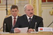 На переговорах в Москве Лукашенко сидел за табличкой «Республика Белоруссия»
