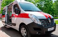 Белорусский импортер Renault подарил машину 10-й больнице Минска