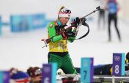 Белорусскую биатлонистку Динару Алимбекову смыло волной в океан
