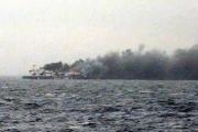 Горящий у берегов Греции паром взяли на буксир