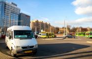 В Гродно маршрутчики работают в прежнем режиме