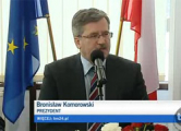 Президент Польши пообещал последовательно поддерживать демократию в Беларуси