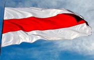 В Новой Боровой национальные флаги стали просто «прорастать» из стен