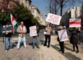 Акция у посольства Беларуси в Париже: Лукашенко в отставку! (Фото)