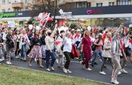 Белоруски прорвали цепь из омоновцев