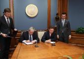 Беларусь и «Газпром» подписали соглашение по газу