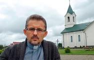 Ксёндз Вячаслаў Барок: Бог  бласлаўляе тым, хто шукае праўды і ідзе да свабоды