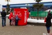 На «Комаровке» установили гигантскую чашку с сюрпризом