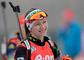 Дарья Домрачева заняла седьмое место в гонке преследования