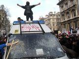 Британские студенты устроили беспорядки в Лондоне