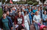 «Лукашенко, уходи»: как в Жодино прошло шествие бастующих работников БелАЗа