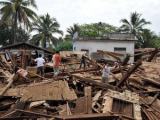 В результате землетрясения в Мьянме погибли пять человек