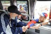 Фидель Кастро впервые за долгое время появился на публике