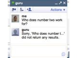 В Google Talk появился чат-бот Гуру