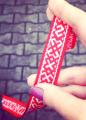 На улицах Минска раздали 11 тысяч лент с орнаментом