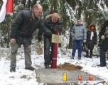 Вандализм в Куропатах: исчез памятник польским офицерам