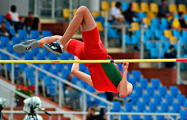 Белорус установил рекорд чемпионата Европы (U-20) в прыжках в высоту