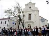 ОМОН избивал людей у костела святого Иосифа в Минске (Обновлено)