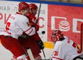 Белорусские хоккеисты проиграли датчанам 2:3