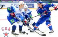 Минское «Динамо»  пропустило шесть шайб от лидера КХЛ